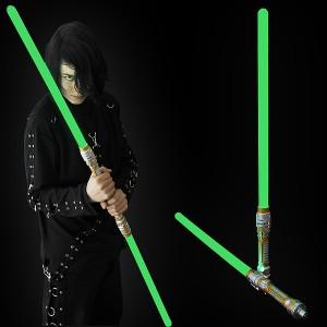 "LED Lanzen Schwert ""Jade 2 Teilig"""