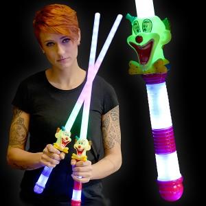 """LED Neonschwert """"Clown"""""""
