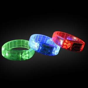 LED Funkel Panzer Armband