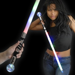 LED Krieger Kugel-Schwert
