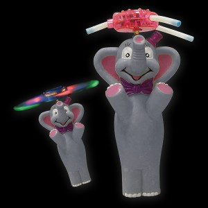 "LED Rotor Comic ""Elefant"""