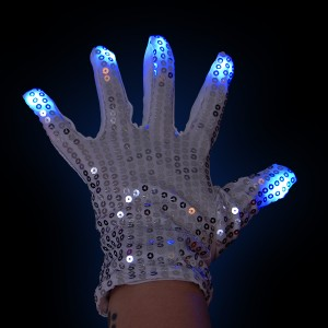 "LED Handschuh ""Funkel Fingers Links"""