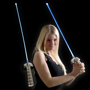 """LED Laser Degen """"Blau"""""""