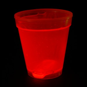 "Miracle Of The Light / Knick Leuchtbecher ""250ml Rot"""
