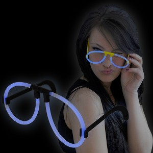 """Miracle Of The Light / Knick Leuchtbrille """"Blau"""""""