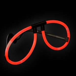 "Miracle Of The Light / Knick Leuchtbrille ""Rot"""