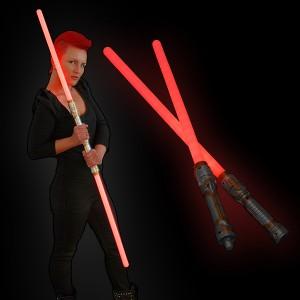 """LED Lanzen Schwert """"Rot 2 Teilig"""""""