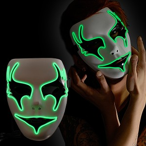 "EL Maske ""Grünes Phantom"""