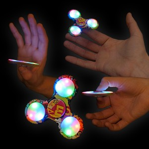 "LED Fidget Spinner ""Comic"""