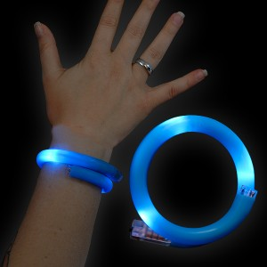 "LED Wickelarmband ""Blau"""