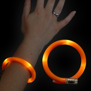 "LED Wickelarmband ""Orange"""