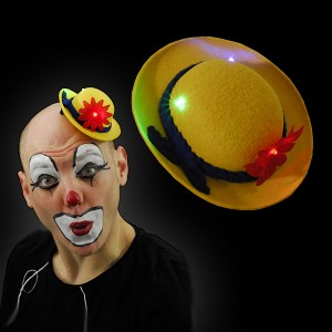 "LED Mini-Melone ""Clown Gelb"""