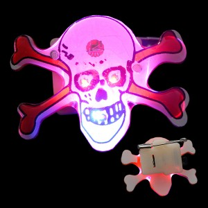 "LED Anstecker ""Jolly Roger"""