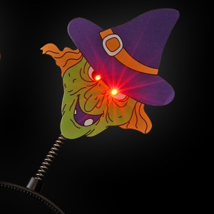 """LED Halloween Haarreif """"Hexe"""""""