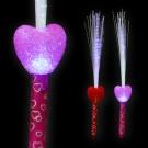 """LED Magic Stick Rainbow """"Shiny Folk Heart"""""""