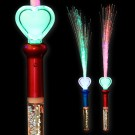 "LED Magic Stick Rainbow Glitter ""Water Heart"""