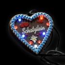 """LED Gingerbread Heart """"Schatzilein"""""""