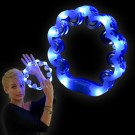 "LED Tambourine ""Blue/White"""