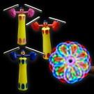 """LED Duplex Spinner """"Clown"""""""