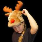"Children Santa Hat ""Elk"""