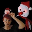"Christmas Headgear ""Mini Snowman"""