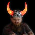 """LED Viking Helmet """"Thor"""""""