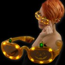 "LED Halloween Glasses ""Pumpkin"""