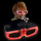 "LED Laser Glasses ""Red"""