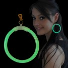 """Miracle Of The Light / Maxi Earrings """"Green"""""""