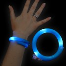 "LED Wrapped Bracelet ""Blue"""